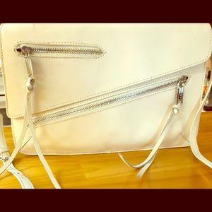 Joe's White cross body purse